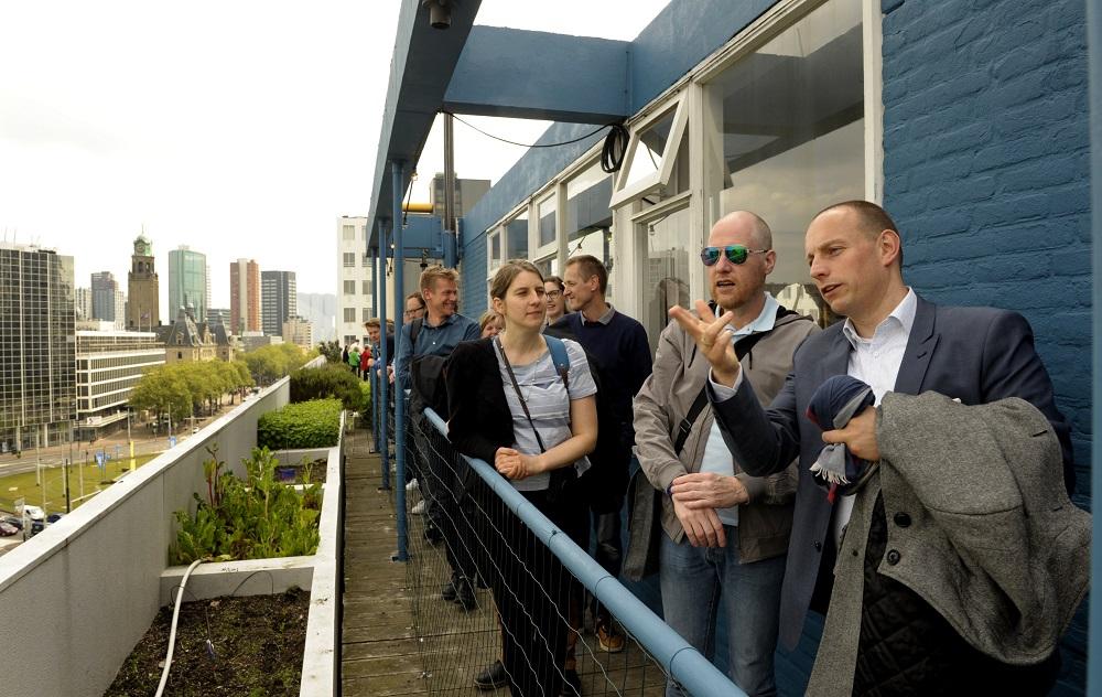KENNISDELING: Antwerpen bezoekt Rotterdam